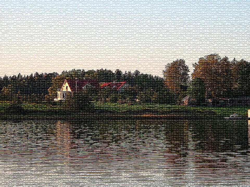 Nõuni järv sügisel