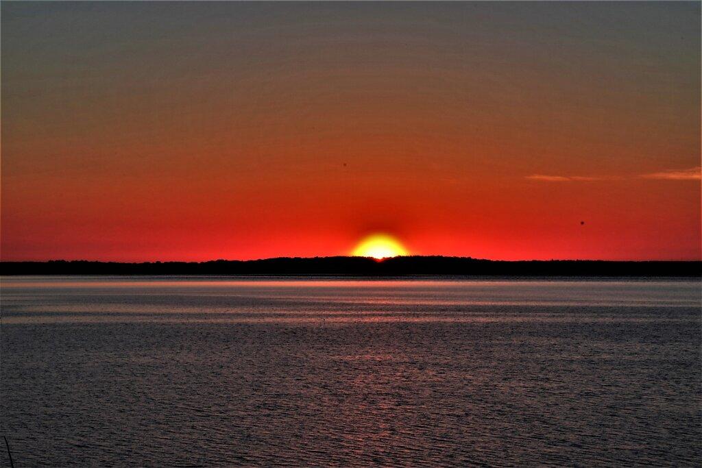 Päikesetõus Leetse pankrannik
